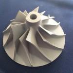 detalhe de turbina